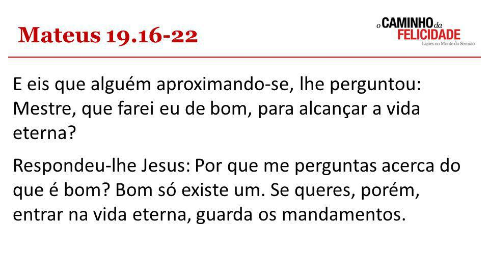 Mateus 19.16-22