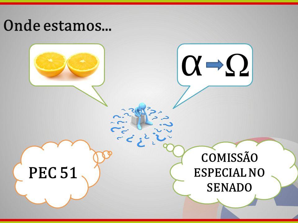 COMISSÃO ESPECIAL NO SENADO