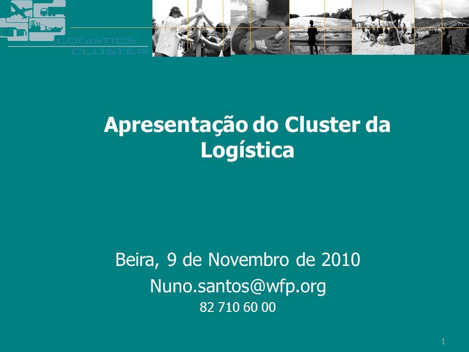 Beira, 9 de Novembro de 2010 Nuno.santos@wfp.org 82 710 60 00