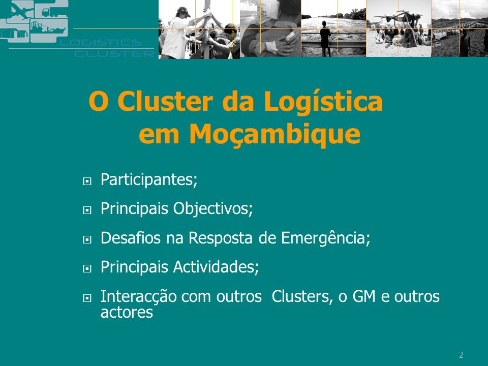 O Cluster da Logística em Moçambique