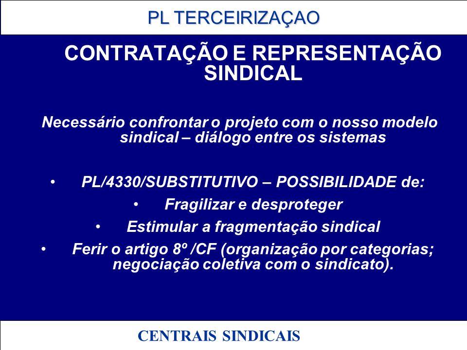 PL/4330/SUBSTITUTIVO – POSSIBILIDADE de: Fragilizar e desproteger