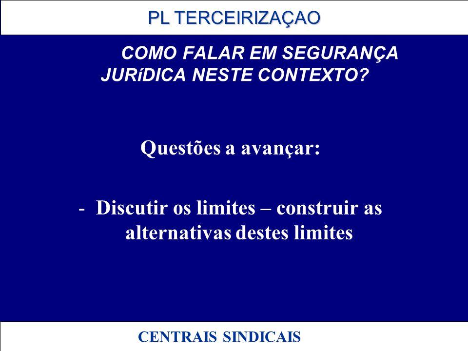 COMO FALAR EM SEGURANÇA JURíDICA NESTE CONTEXTO