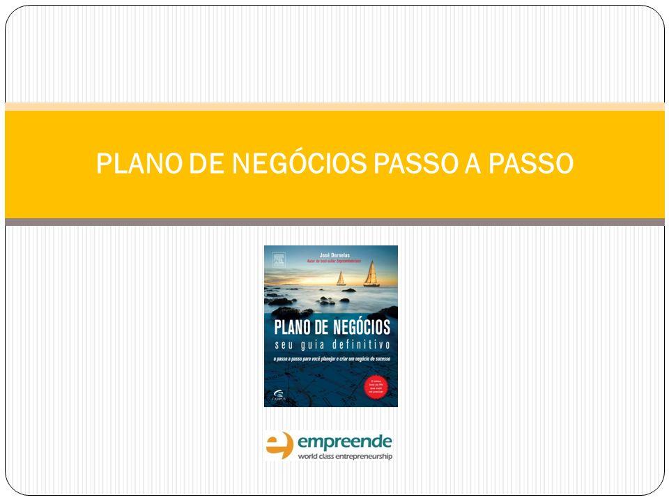 PLANO DE NEGÓCIOS PASSO A PASSO