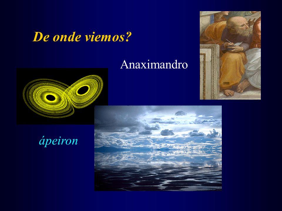 De onde viemos Anaximandro ápeiron