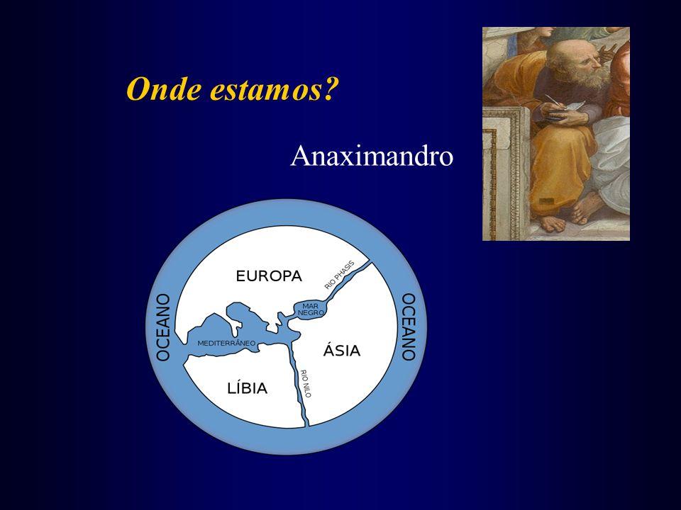 Onde estamos Anaximandro