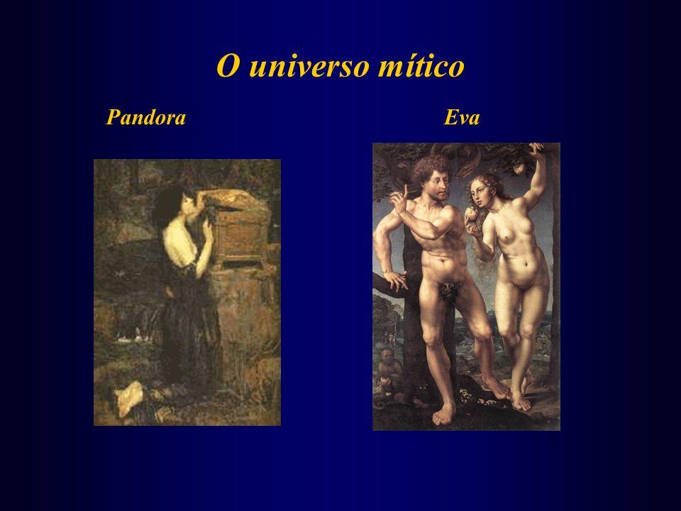 O universo mítico Pandora Eva