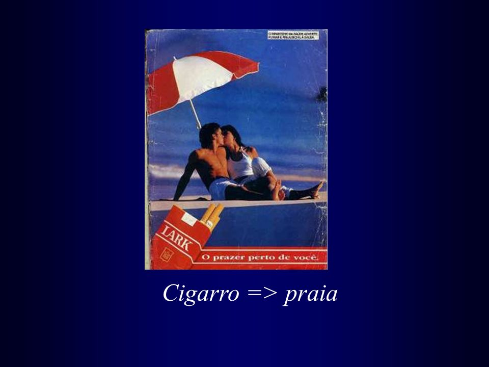 Cigarro => praia