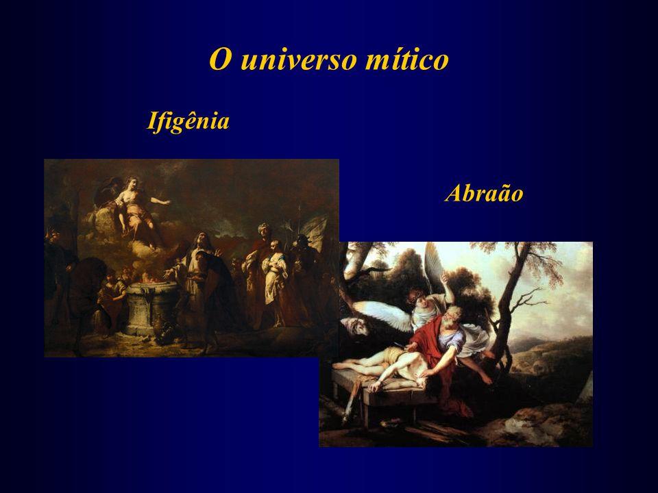 O universo mítico Ifigênia Abraão
