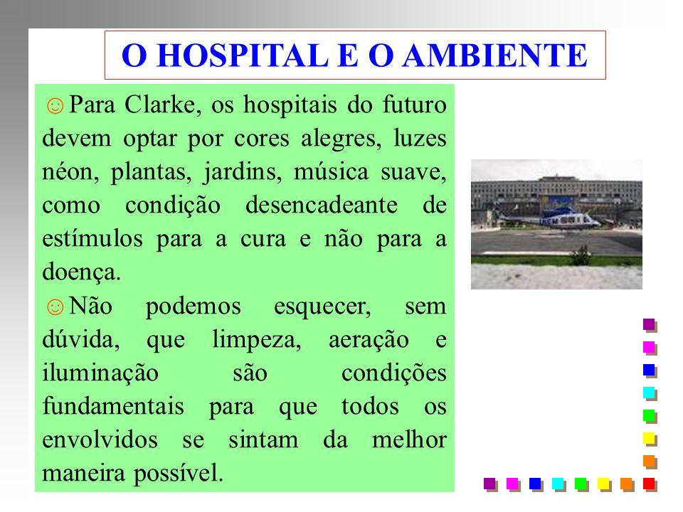O HOSPITAL E O AMBIENTE