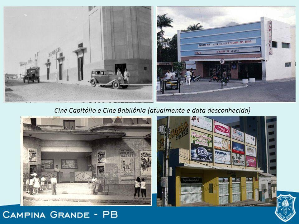 Cine Capitólio e Cine Babilônia (atualmente e data desconhecida)