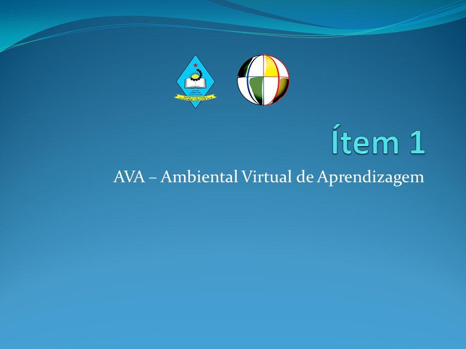 AVA – Ambiental Virtual de Aprendizagem