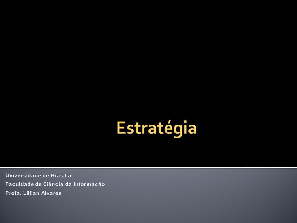 Estratégia Universidade de Brasília Faculdade de Ciência da Informação