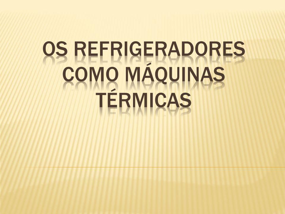 OS refrigeradores como Máquinas térmicas