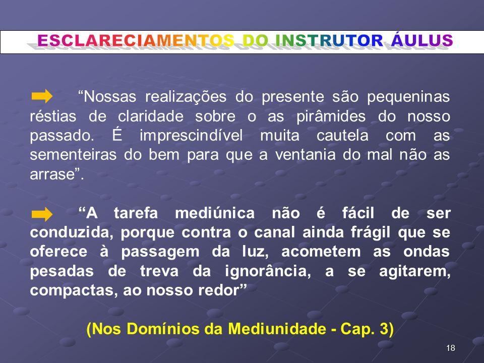 (Nos Domínios da Mediunidade - Cap. 3)