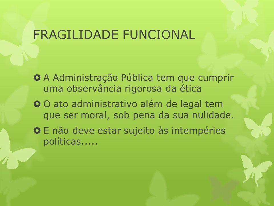 FRAGILIDADE FUNCIONAL