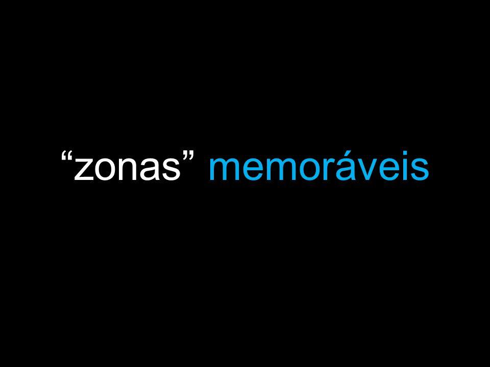 zonas memoráveis