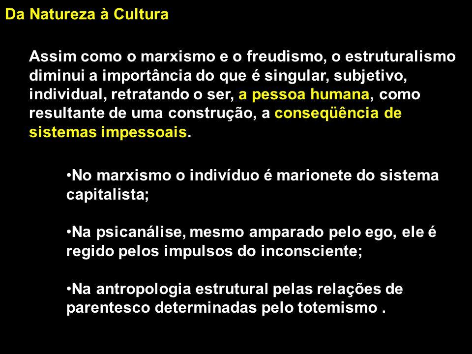 Da Natureza à Cultura