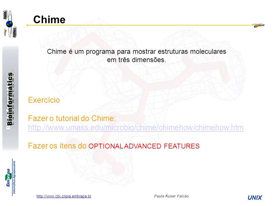 Chime é um programa para mostrar estruturas moleculares