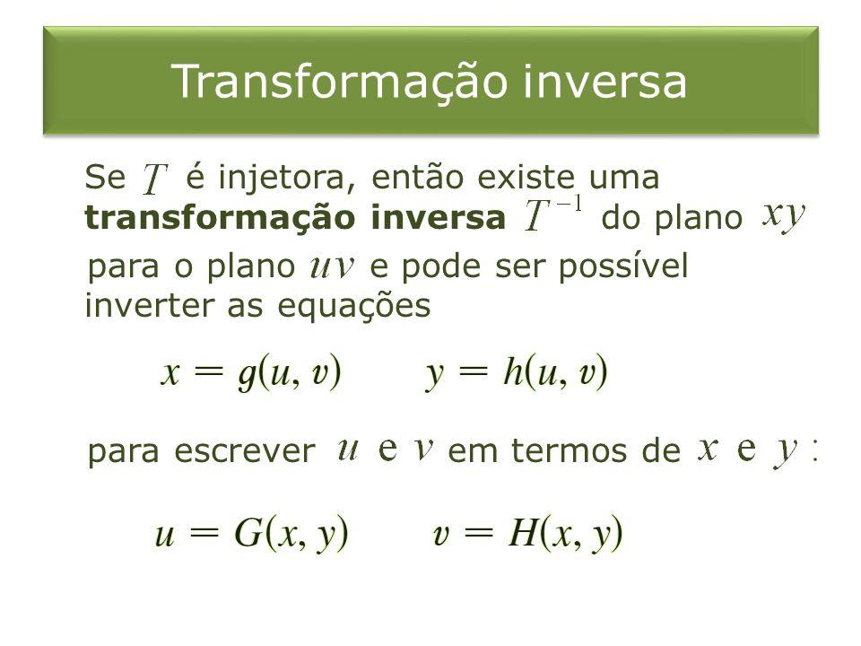 Transformação inversa