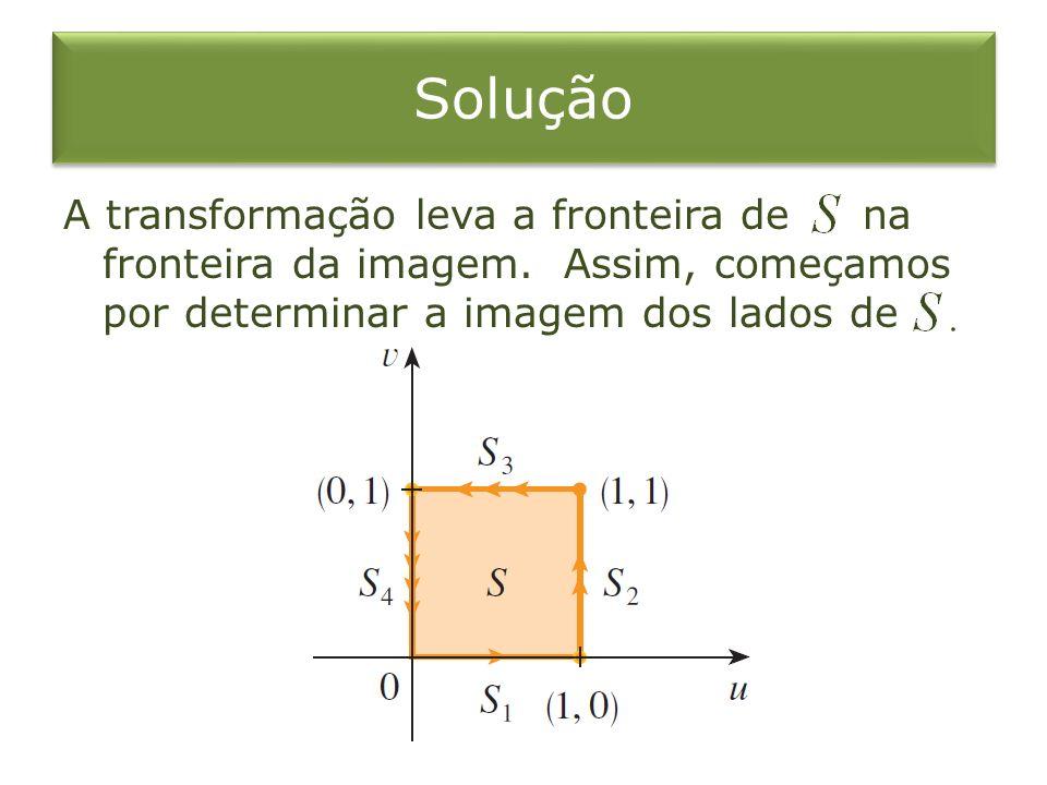 SoluçãoA transformação leva a fronteira de na fronteira da imagem.