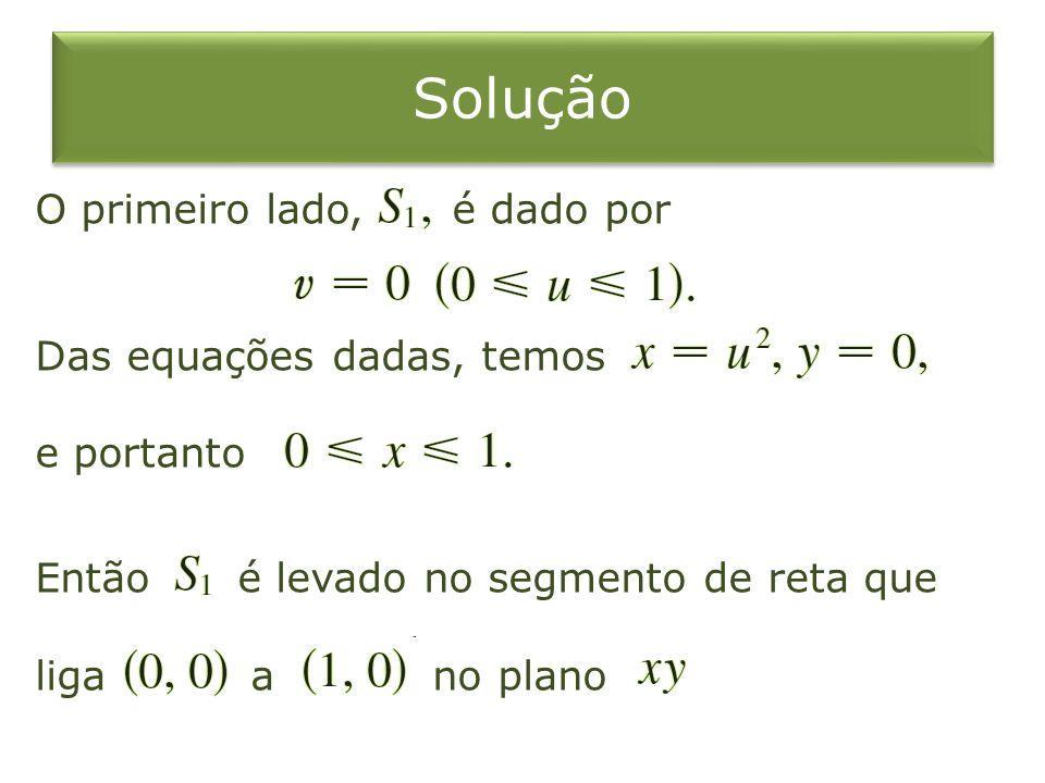 SoluçãoO primeiro lado, é dado por Das equações dadas, temos e portanto Então é levado no segmento de reta que liga a no plano