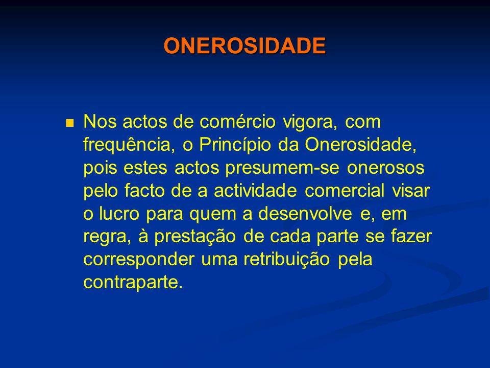 ONEROSIDADE