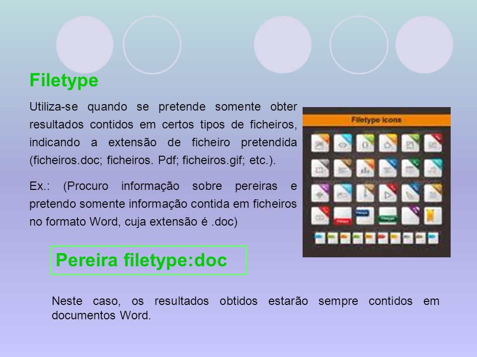 Filetype Pereira filetype:doc