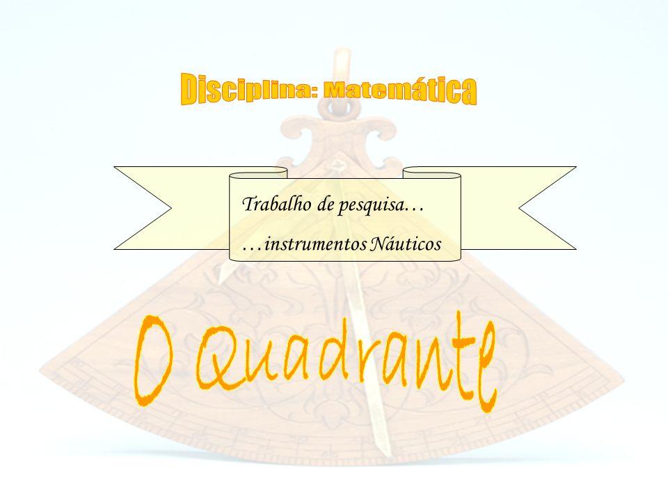 Disciplina: Matemática
