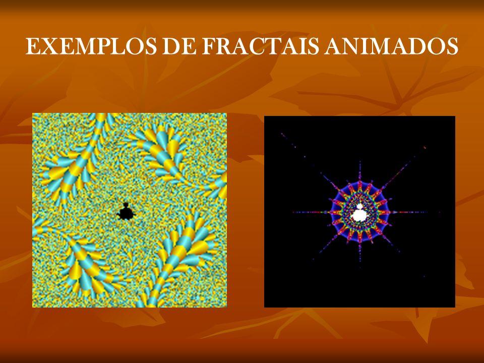 EXEMPLOS DE FRACTAIS ANIMADOS