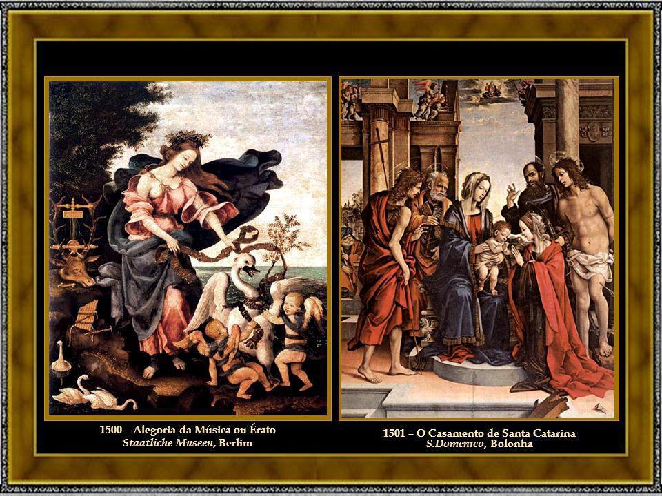 1500 – Alegoria da Música ou Érato Staatliche Museen, Berlim