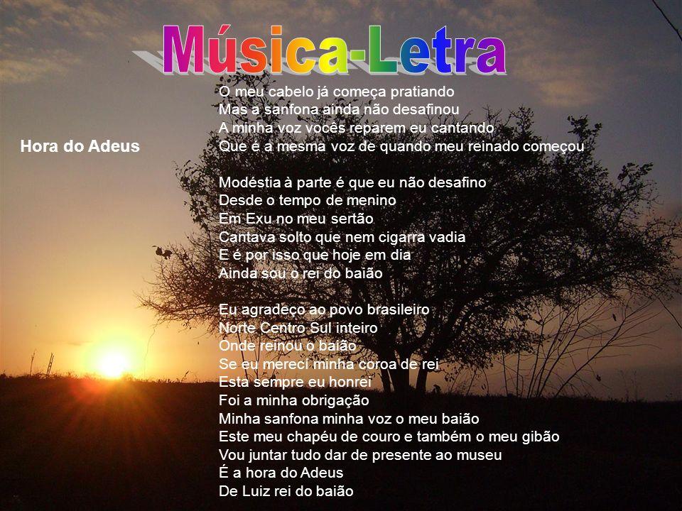 Música-Letra Hora do Adeus