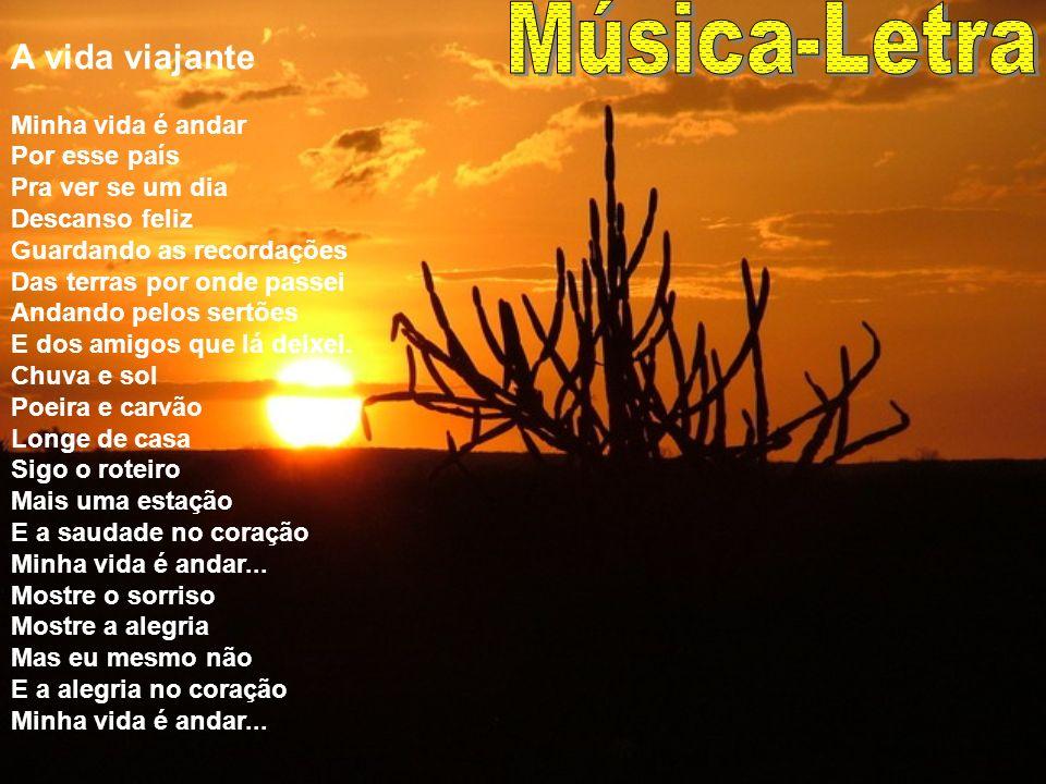 Música-Letra A vida viajante