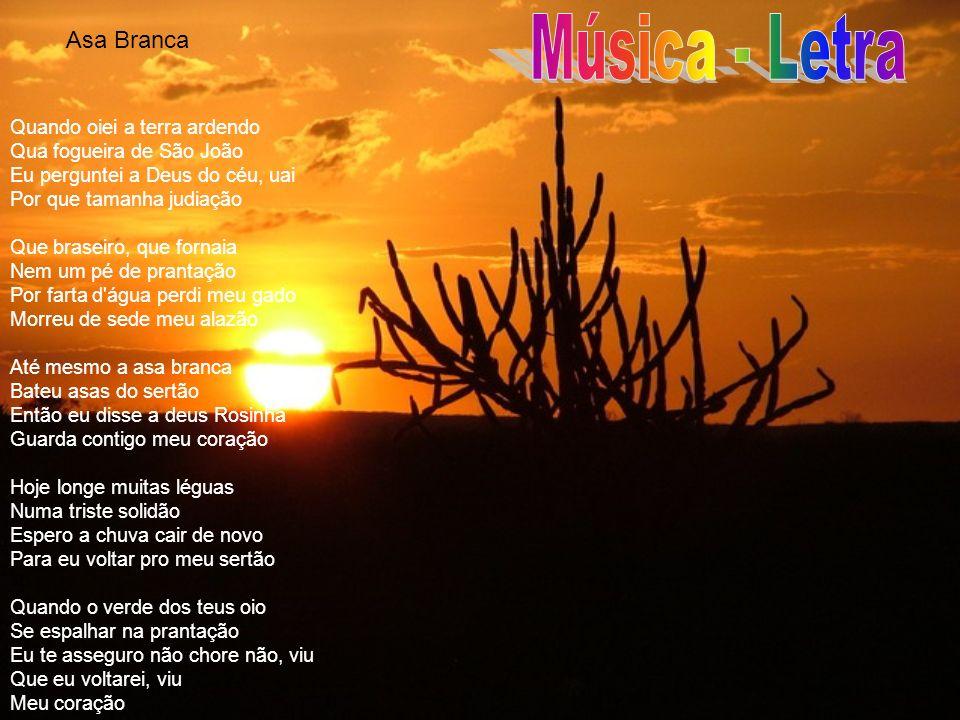 Música - Letra Asa Branca