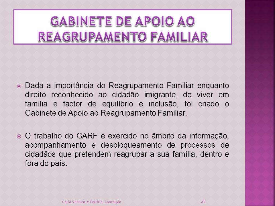 GABINETE DE APOIO AO REAGRUPAMENTO FAMILIAR