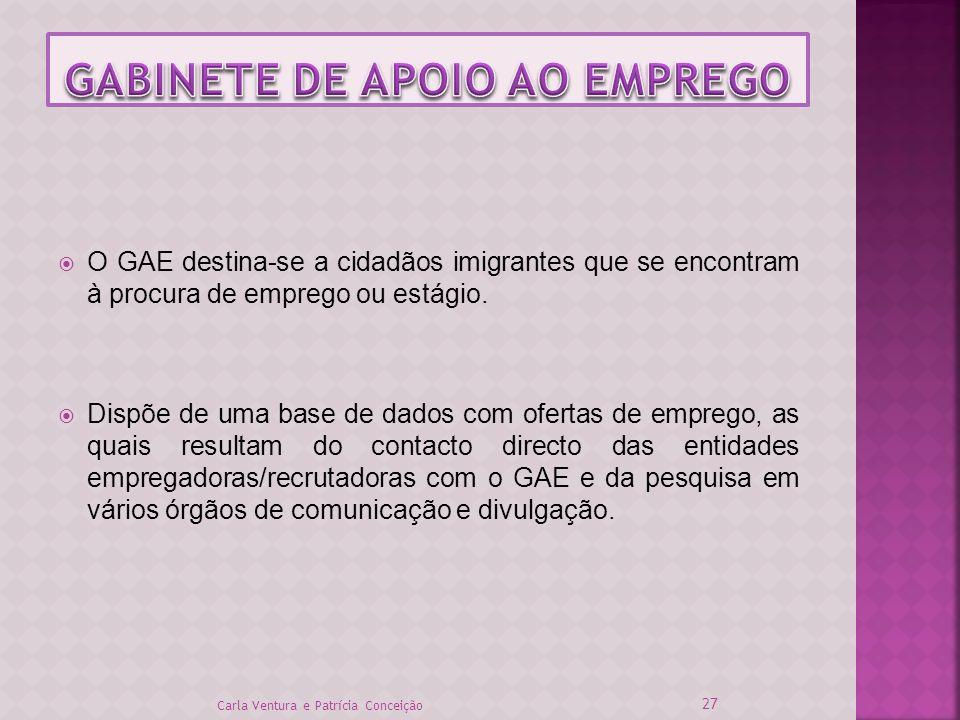 GABINETE DE APOIO AO EMPREGO