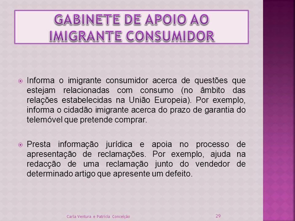GABINETE DE APOIO AO IMIGRANTE CONSUMIDOR