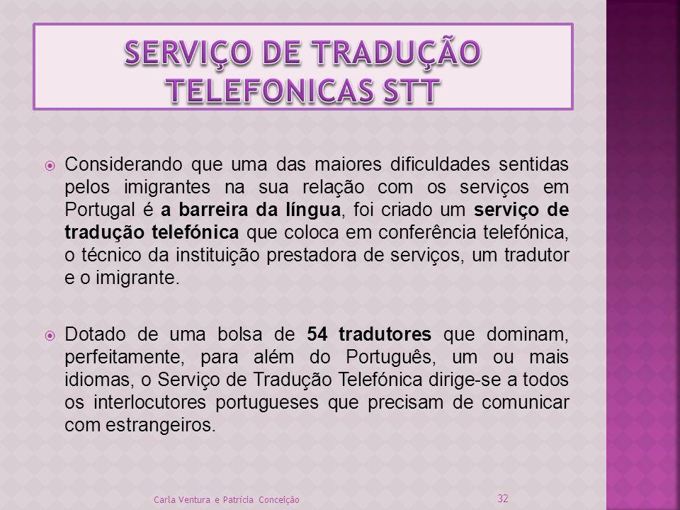 SERVIÇO DE TRADUÇÃO TELEFONICAS STT