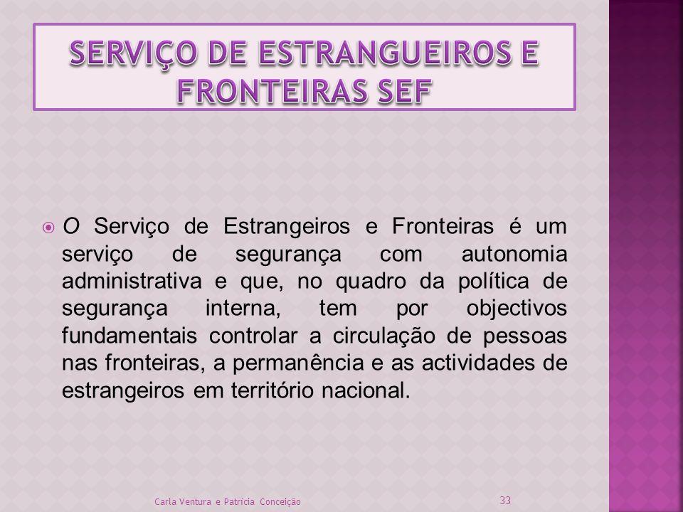 SERVIÇO DE ESTRANGUEIROS E FRONTEIRAS SEF