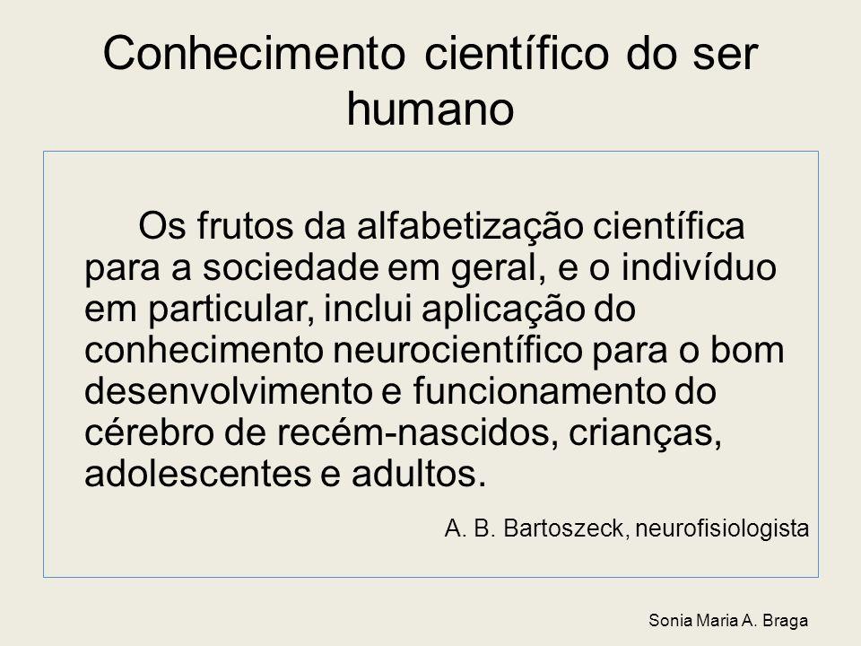 Conhecimento científico do ser humano