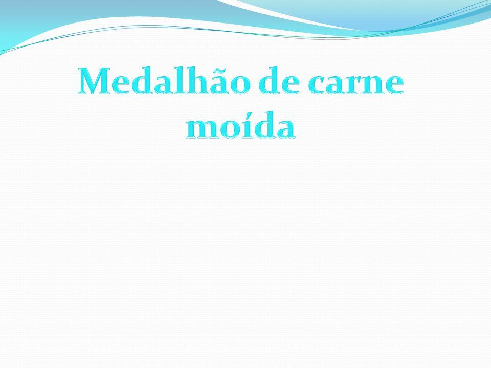 Medalhão de carne moída