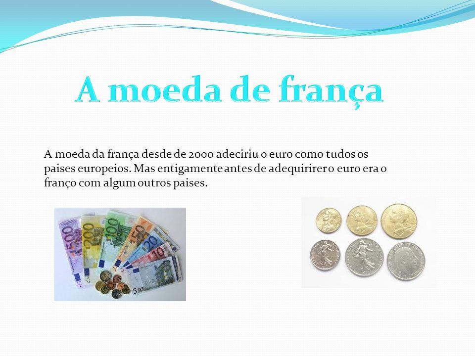 A moeda de frança