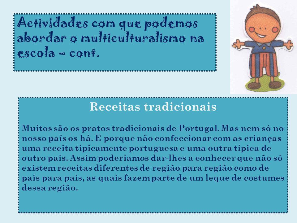 Receitas tradicionais
