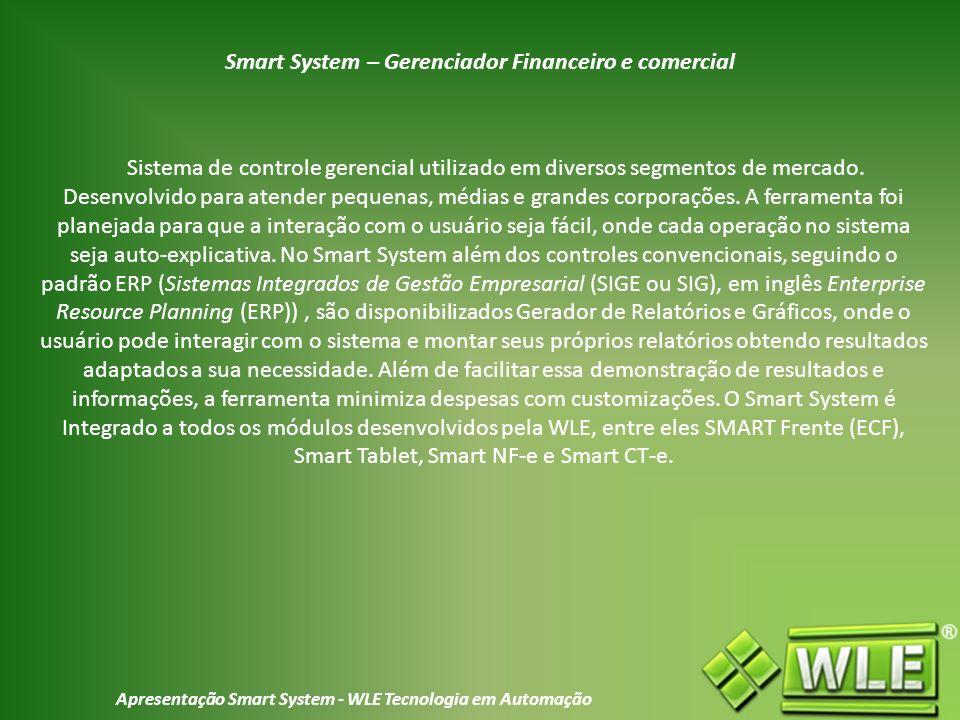 Smart System – Gerenciador Financeiro e comercial