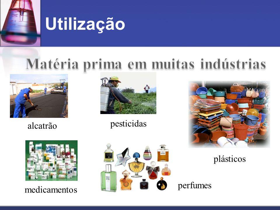 Matéria prima em muitas indústrias