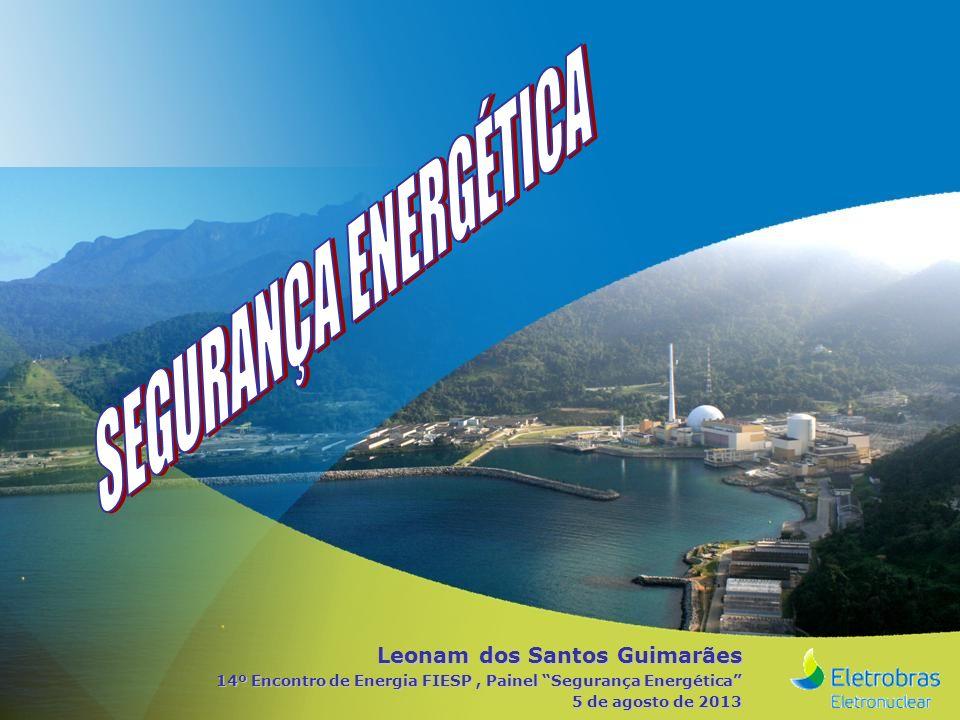 SEGURANÇA ENERGÉTICA Leonam dos Santos Guimarães