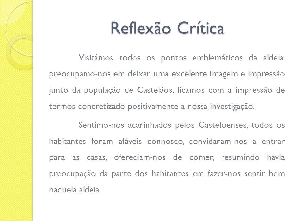 Reflexão Crítica