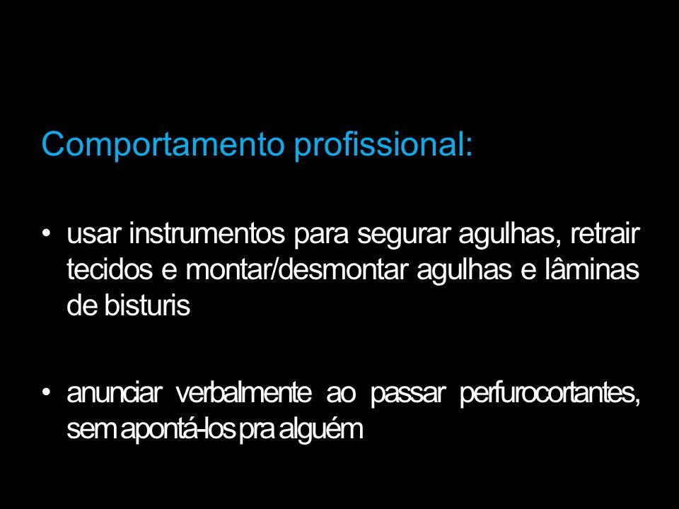 Comportamento profissional: