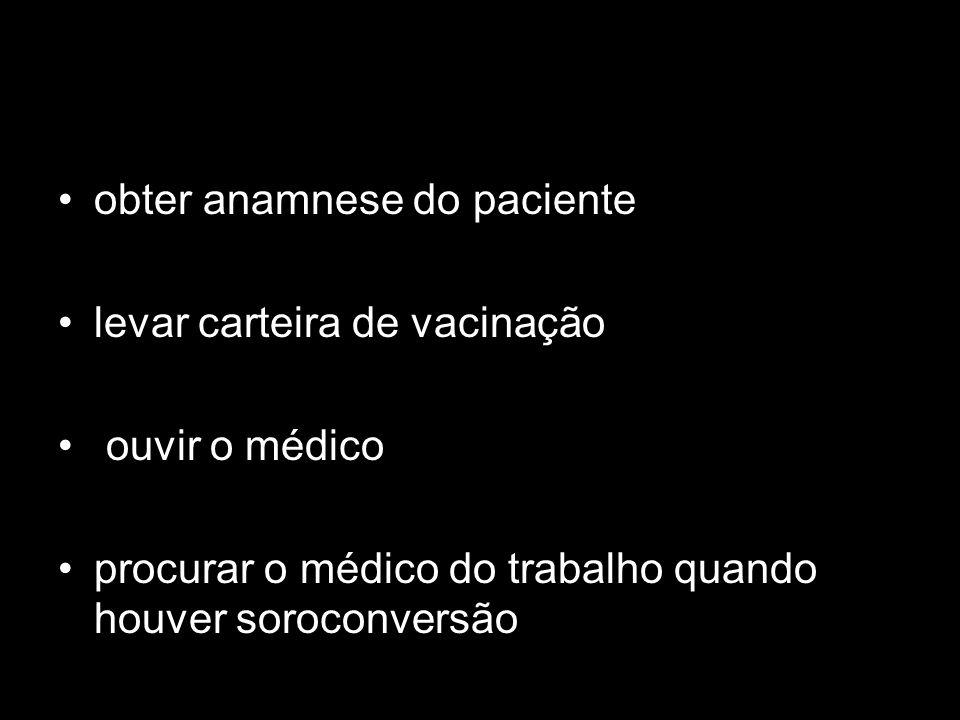 obter anamnese do paciente
