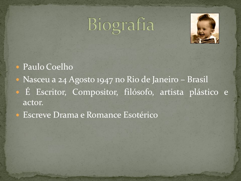 Biografia Paulo Coelho