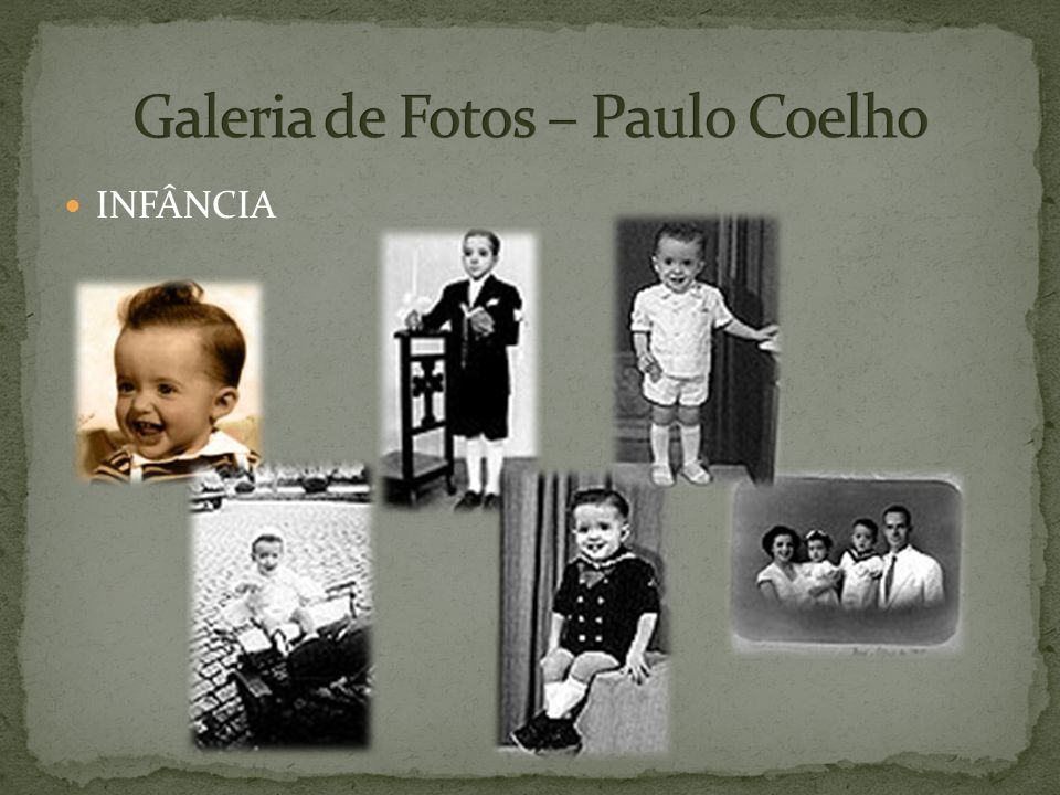 Galeria de Fotos – Paulo Coelho